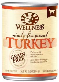 Wellness 95% Turkey Canned Dog Food