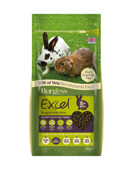 Burgess Excel Rabbit Mint
