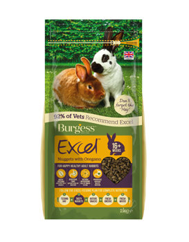 Burgess Excel Rabbit Oregano