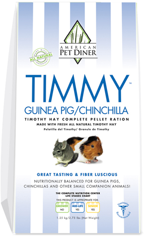 APD Timmy Guinea Pig/Chinchilla Pellets