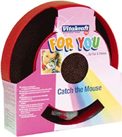 Vitakraft Catch The Mouse Plastic Toy for Cat