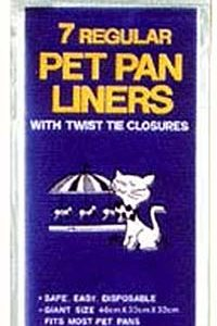Percell Cat Pan Liners