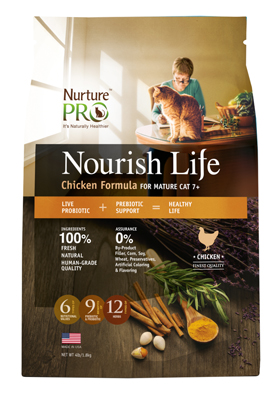 Nurture Pro Nourish Life Chicken Mature Cat
