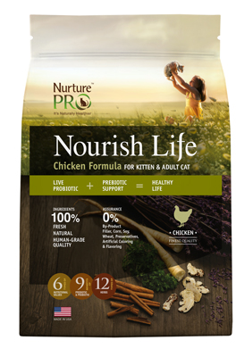 Nurture Pro Nourish Life Chicken Cat