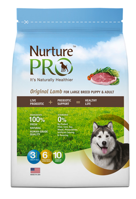 Nurture pro original lamb puppy adult dog