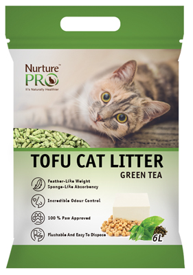 Nurture Pro Green Tea Cat Litter