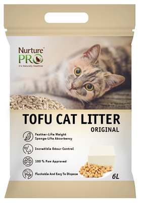 Nurture Pro Tofu Cat litter original