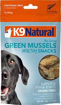 K9 Natural Green Mussel Snack 50g