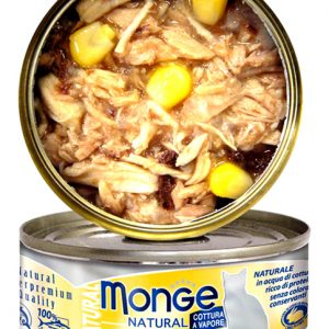 Monge Natural - Tuna & Chicken with Corn