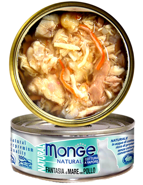 Monge Natural - Seafood Mixed with Chicken