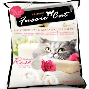 Fussie Cat Litter Enchanted Rose
