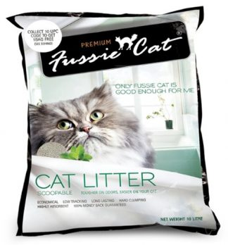 Fussie Cat LItter Scoopable