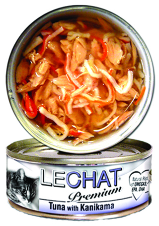 LeChat Premium Tuna with Kanikama