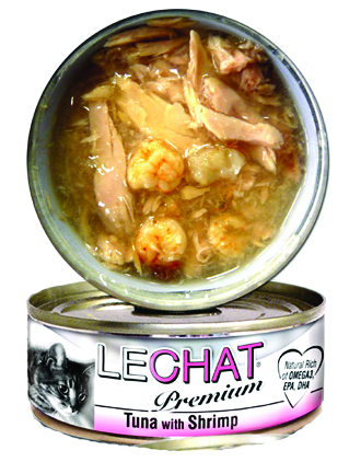 LeChat Premium Tuna with Shrimps