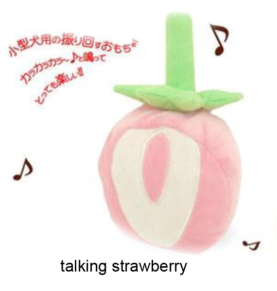Talking Strawberry Toy