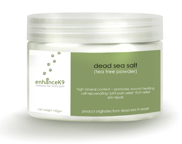 enhanceK9- Dead Sea Salt with Tea Tree Powder