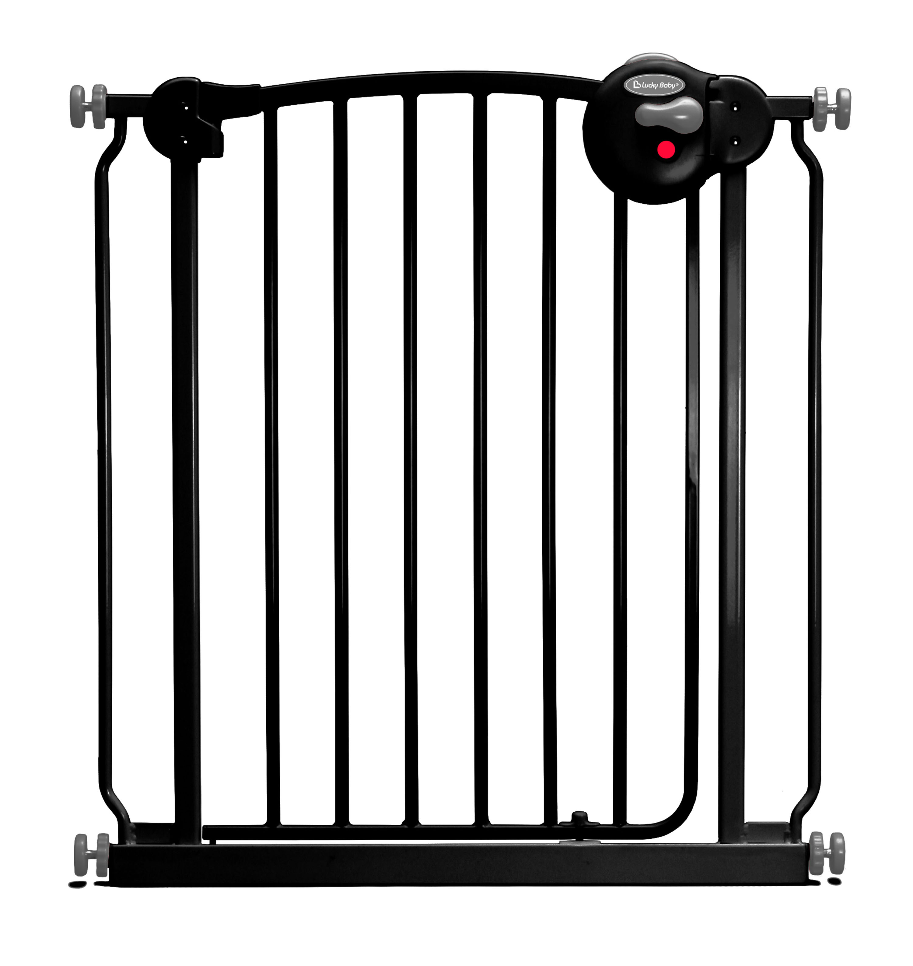 Lucky Baby - Smart System 2 Ways Swing Back™ Gate