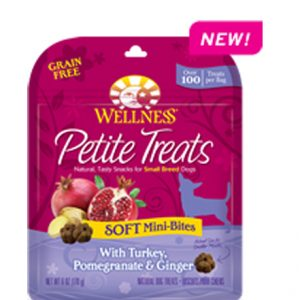 Wellness® Petite Treats Soft Mini-Bites With Turkey, Pomegranate & Ginger - 6oz