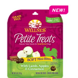 Wellness® Petite Treats Soft Mini-Bites With Lamb, Apples & Cinnamon - 6oz