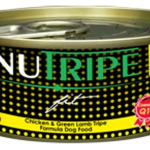 Nutripe Fit Dog Cans - Chicken & Green Lamb Tripe Formula - 24cans