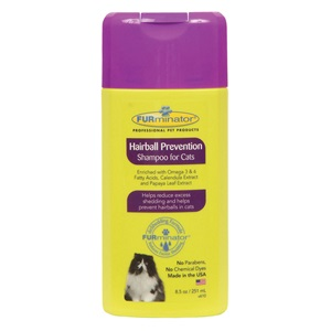 Furminator Hairball Prevention Shampoo for Cats - 8.5 oz