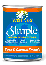 Wellness Simple Food Solutions Duck & Oatmeal Canned Dog
