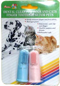 Percell Dental Dog & Cat Finger Toothbrush