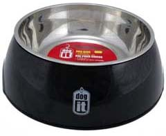 Dogit 2 in 1 Durable Bowl - Black
