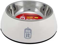 Dogit 2 in 1 Durable Bowl – White