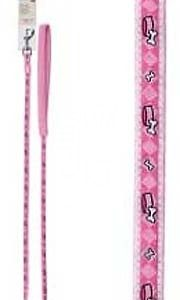 Avenue Nylon Dog Leash - Charm, Baby Pink