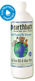 Earthbath Tea Tree Oil & Aloe Vera Shampoo
