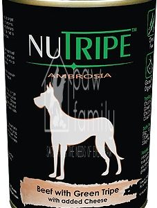 Nutripe Ambrosia Beef with Green Tripe Canned Dog Food