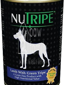 Nutripe Lamb with Green Tripe Canned Dog Food