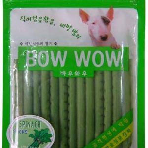 Bow Wow Spinach Stick