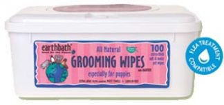 Earthbath Grooming Wipes-Puppy