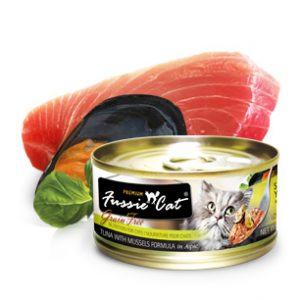 Fussie Cat Premium Tuna With Mussels