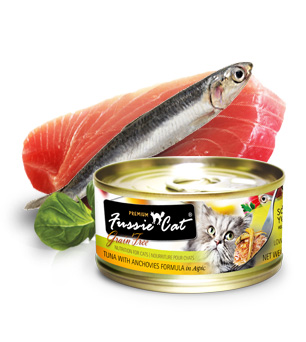 Fussie Cat Premium Tuna With Anchovy