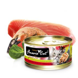 Fussie Cat Premium Tuna With Ocean Fish