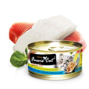 Fussie Cat Premium Tuna With Small Anchovies