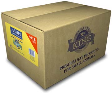 Alfalfa King - Alfafa Hay (Double-Compressed Box) - 50lbs