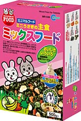 Marukan Rabbit (Main Food) Cabbage/Banana/Carrot Pellet