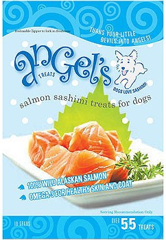 Angel's Salmon Sashimi Treats for Dogs