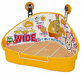 Marukan Wide Toilet Tray for Rabbit