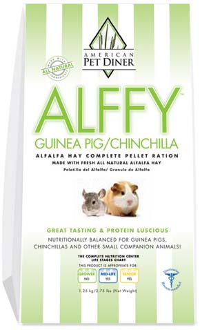 APD Alffy Guinea Pig/Chinchilla Pellets