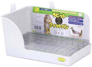 Sanko Wild Ferret/Rabbit Corner Litter Pan