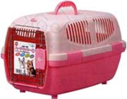 Marukan Pet Carrier Small - Pastel Pink
