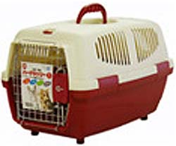 Marukan Pet Carrier Small - Red
