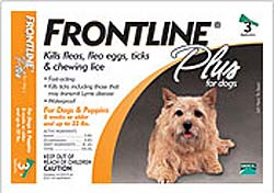 Frontline Plus for Small Dogs up to 10kg