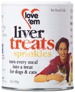 Love'em Liver Treats Sprinkles
