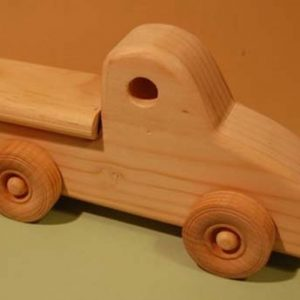 Busy Bunny - Pickup Truck Wood Toy